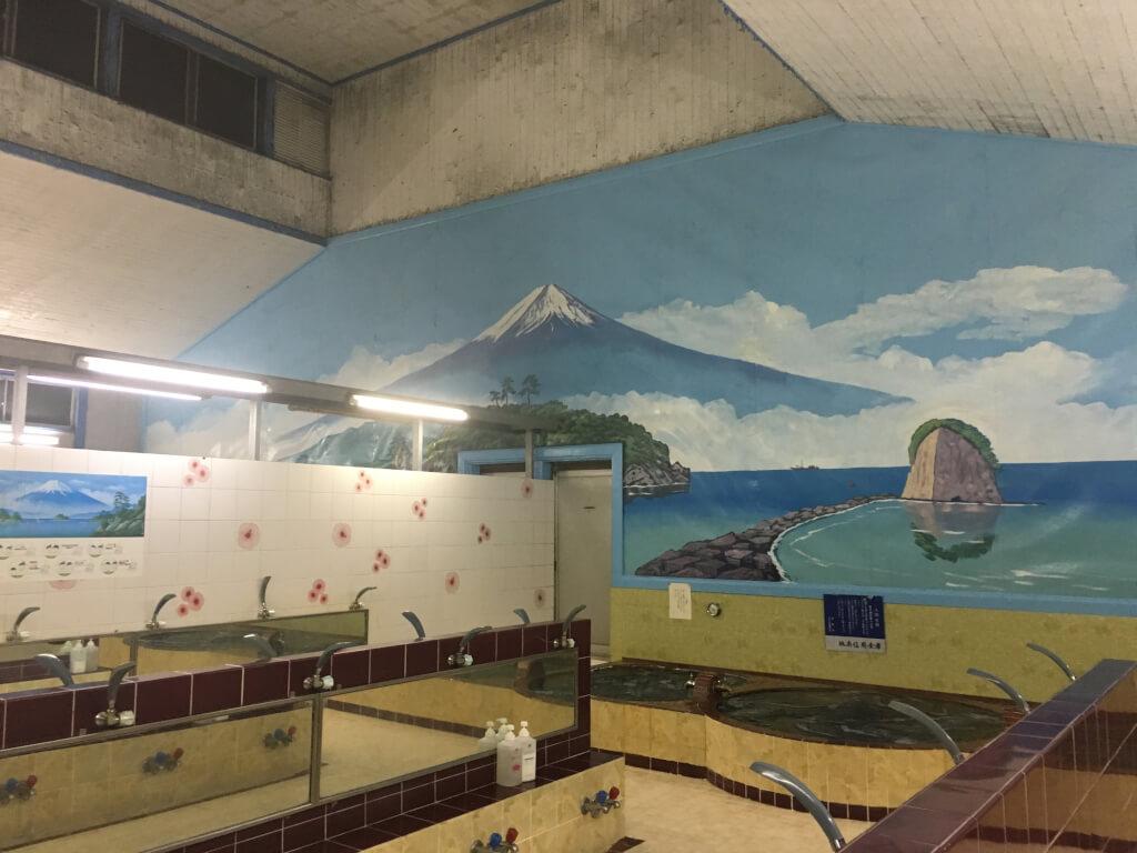 世田谷区奥沢にある銭湯『松の湯』